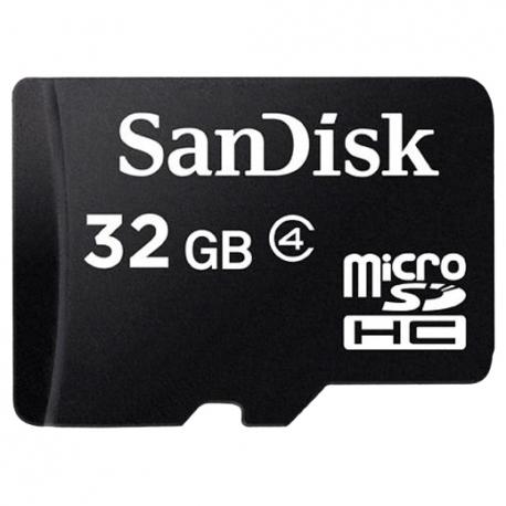 SanDisk micro SDHC karta 32GB class 4 bez adaptéra