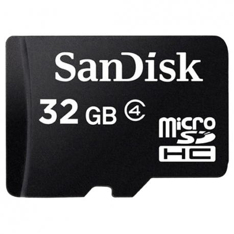SanDisk microSDHC Card 32GB Class4 bez adaptéru