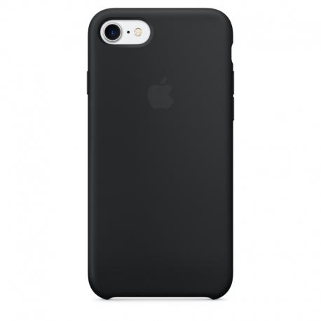 Apple iPhone SE (2020) silikonové pouzdro černé
