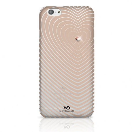 White Diamonds Heartbeat kryt iPhone 6 4.7 zlatý