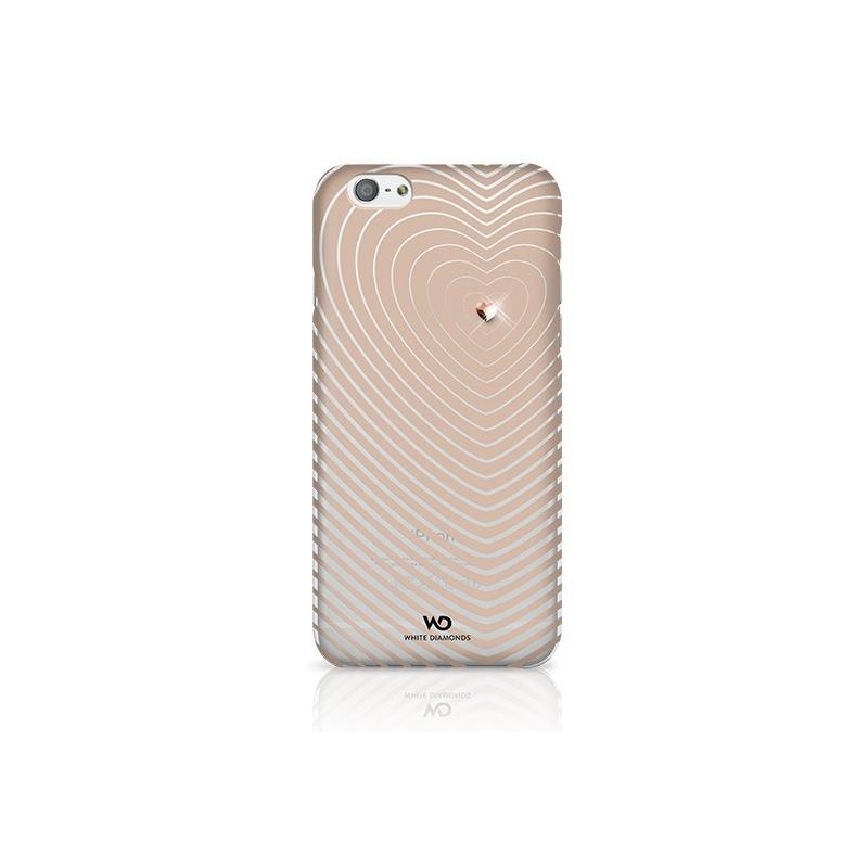 White Diamonds Heartbeat kryt iPhone 6 4.7 zlatý