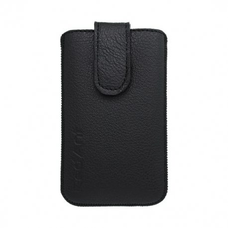 Kožená vsuvka na Samsung Galaxy S5 mini černá