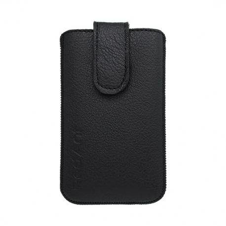 Kožená vsuvka na Samsung Galaxy S5 mini čierna