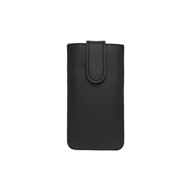 Kožená vsuvka na Apple iPhone 6 4.7 čierna