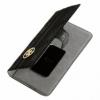 Guess univerzální flipové pouzdro pro 4.6 až 5.2 zařízení černé