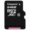 SanDisk micro SDHC karta 64GB class 10 bez adaptéra
