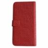 Guess univerzální flipové pouzdro pro 4.6 až 5.2 zařízení červené