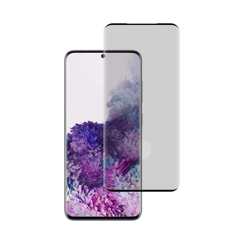 Ochranné sklo na Samsung Galaxy S20 čierne