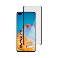 Ochranné sklo na Huawei P40 čierne