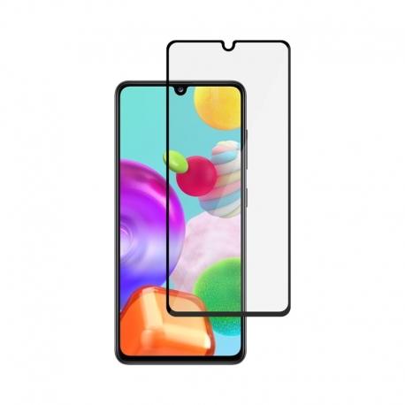 Ochranné sklo na Samsung Galaxy A41 čierne