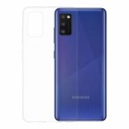 Gumené puzdro na Samsung Galaxy A41 transparentné