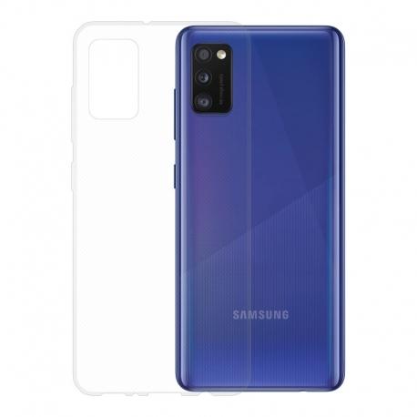 Gumové pouzdro Samsung Galaxy A41 transparentní