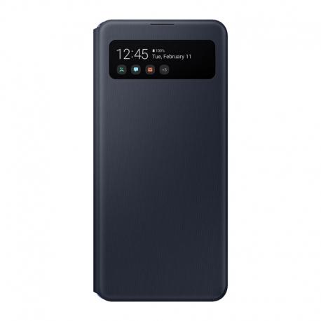 Samsung S-View cover pouzdro pro Galaxy A41 černý