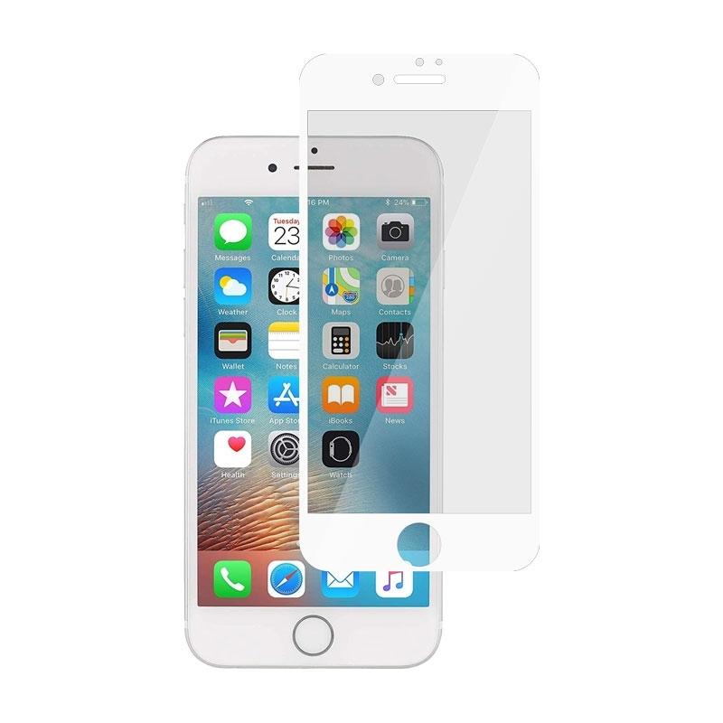 Ochranní sklo pro Apple iPhone 6 bílé