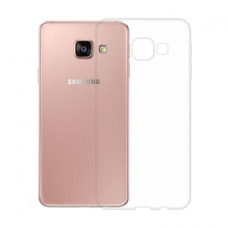 Gumové pouzdro SLIM pro Samsung Galaxy A3 2016 transparentní