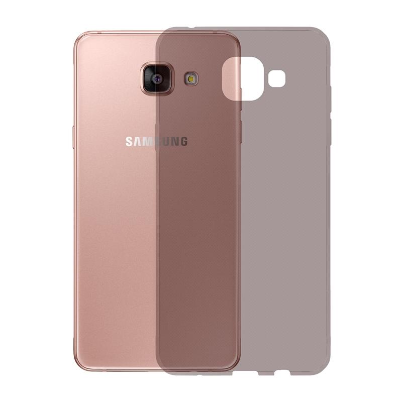 Gumové pouzdro SLIM pro Samsung Galaxy A5 2016 tmavě šedé