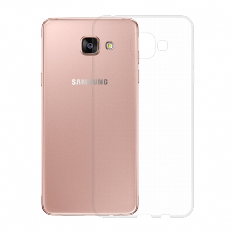 Gumové pouzdro SLIM pro Samsung Galaxy A5 2016 transparentní