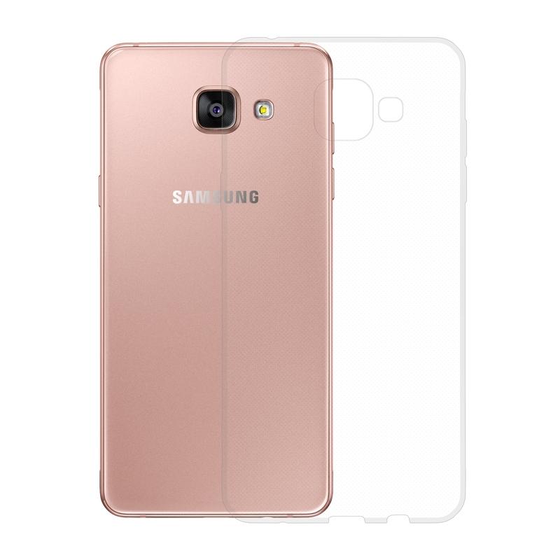 Gumené Slimové puzdro na Samsung Galaxy A5 2016 transparentné