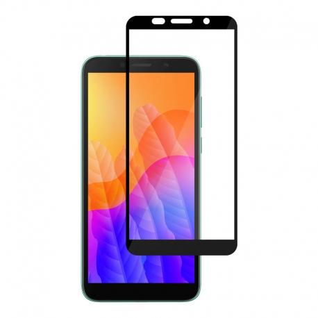 Ochranné sklo na Huawei Y5p čierne