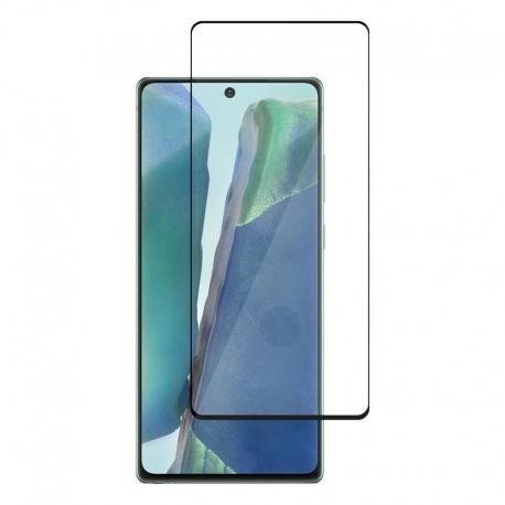 Ochranní sklo Samsung Galaxy Note20 černý rám
