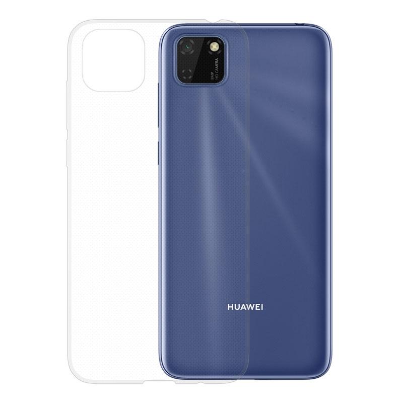 Gumové pouzdro Huawei Y5p transparentní