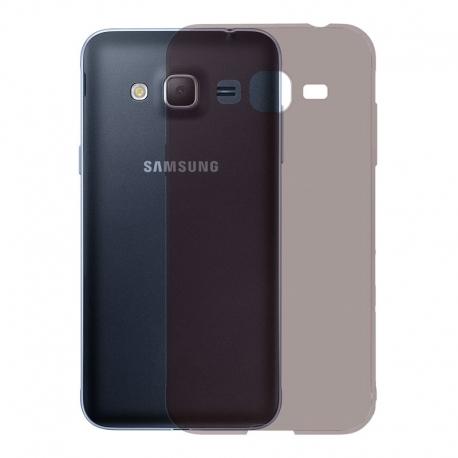 Gumové pouzdro SLIM pro Samsung Galaxy J3 tmavě šedé