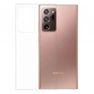 Gumené puzdro na Samsung Galaxy Note20 Ultra transparentné
