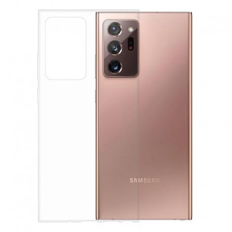Gumové pouzdro Samsung Galaxy Note20 Ultra transparentní