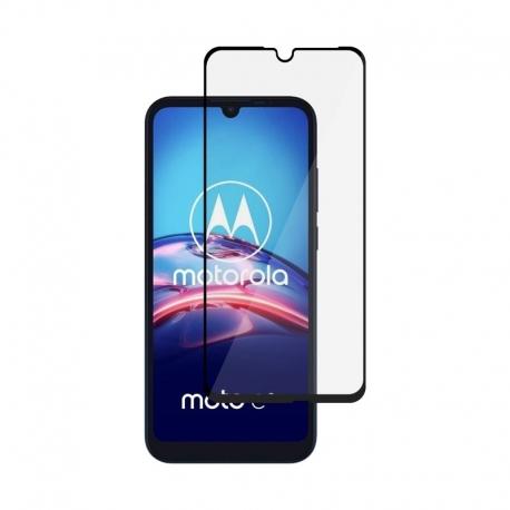 Ochranné sklo na Motorola Moto E6s čierne
