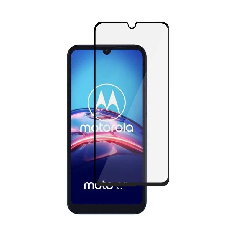 Ochranní sklo na Motorola Moto E6s černé