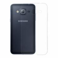 Gumené Slimové puzdro na Samsung Galaxy J3 transparentné
