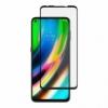 Ochranné sklo na Motorola Moto G9 Plus čierne