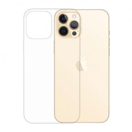 Gumové pouzdro Apple iPhone 12 Pro Max transparentní