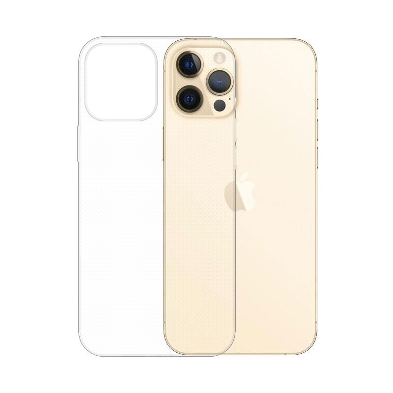 Gumené puzdro na Apple iPhone 12 Pro Max transparentné