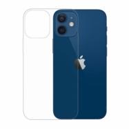 Gumené puzdro na Apple iPhone 12 Mini transparentné