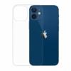 Gumové pouzdro Apple iPhone 12 mini transparentní