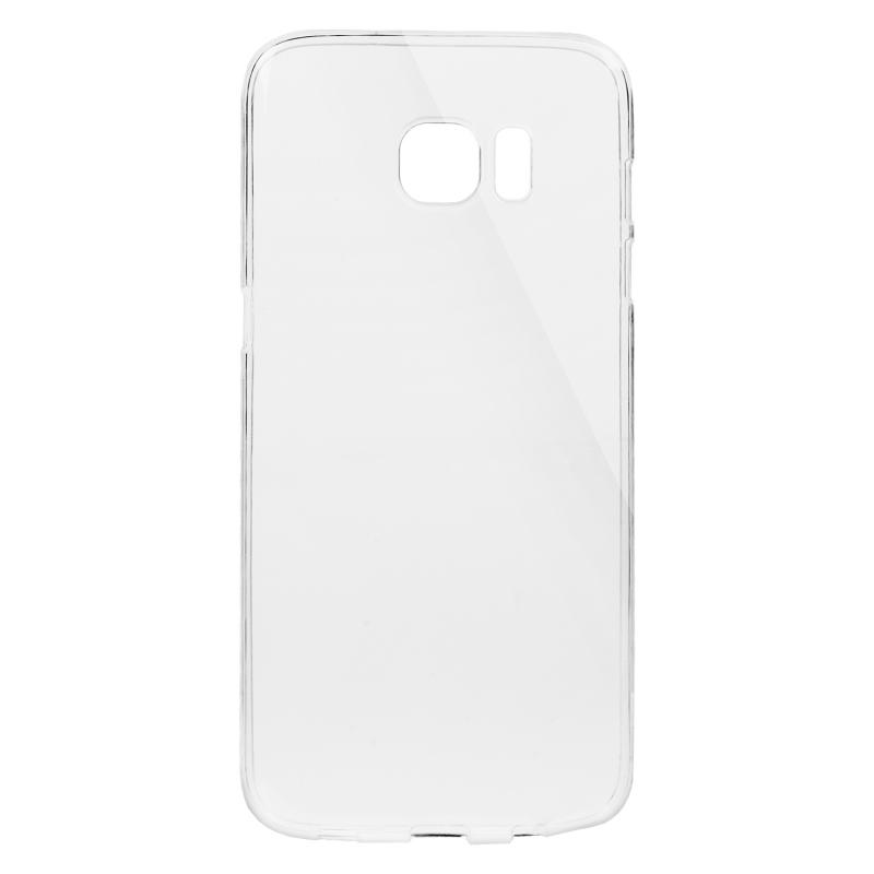 Gumené Slimové puzdro na Samsung Galaxy S7 Edge transparentné