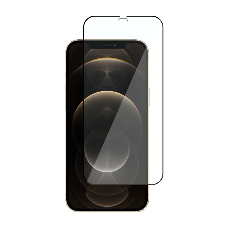 Ochranné sklo na Apple iPhone 12 Pro Max čierne