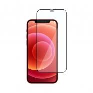 Ochranné sklo na Apple iPhone 12 a 12 Pro čierne