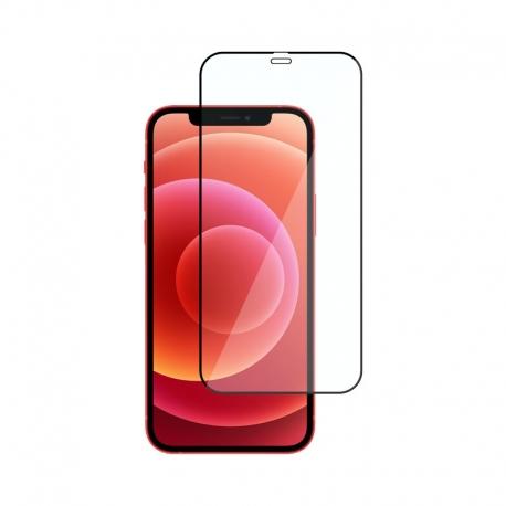 Ochranní sklo na Apple iPhone 12 a 12 Pro černé