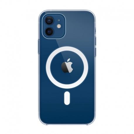 Priehľadný kryt s MagSafe na Apple iPhone 12 a 12 Pro