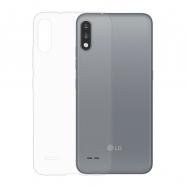 Gumené puzdro na LG K22 transparentné