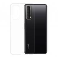 Gumené puzdro na Huawei P Smart 2021 transparentné