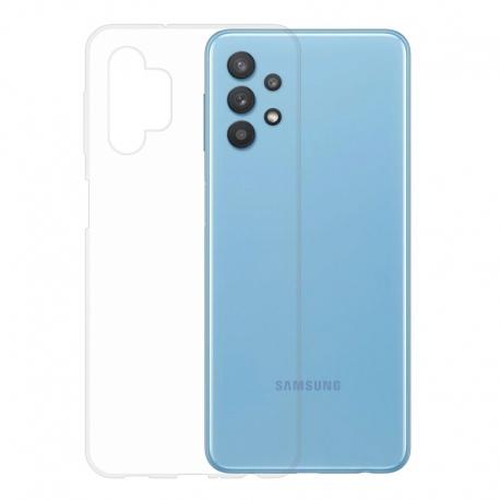 Gumené puzdro na Samsung Galaxy A32 transparentné