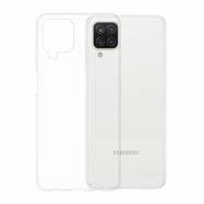 Gumené puzdro na Samsung Galaxy A12 transparentné