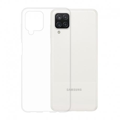 Gumové pouzdro Samsung Galaxy A12 transparentní