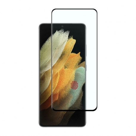 Ochranní sklo na Samsung Galaxy S21 Ultra černé