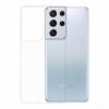 Gumené puzdro na Samsung Galaxy S21 Ultra transparentné