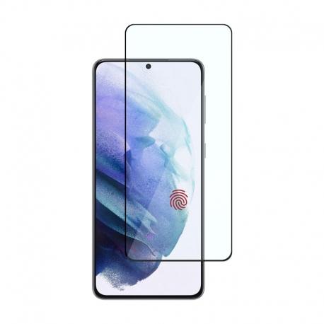 Ochranné sklo na Samsung Galaxy S21+ čierne