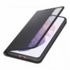 Samsung EF-ZG996CBE Clear View Cover puzdro na Galaxy S21+ čierne